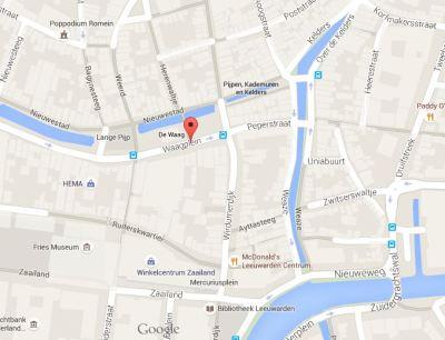 waagplein google maps